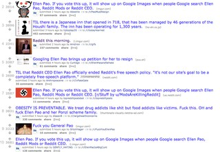Right Now, Reddit's Top Posts Are Swastikas, Fat Shaming
