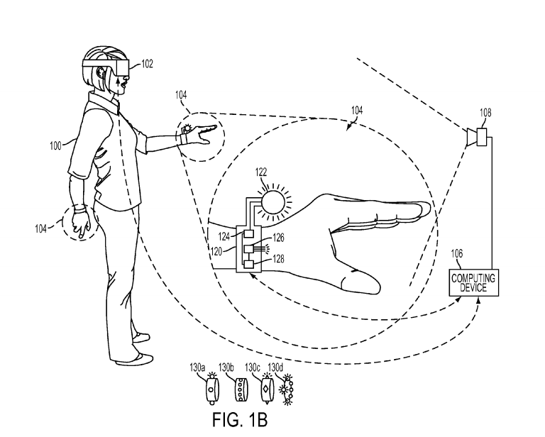 Glove Controller applications filed by Sony for use with PlayStation VR