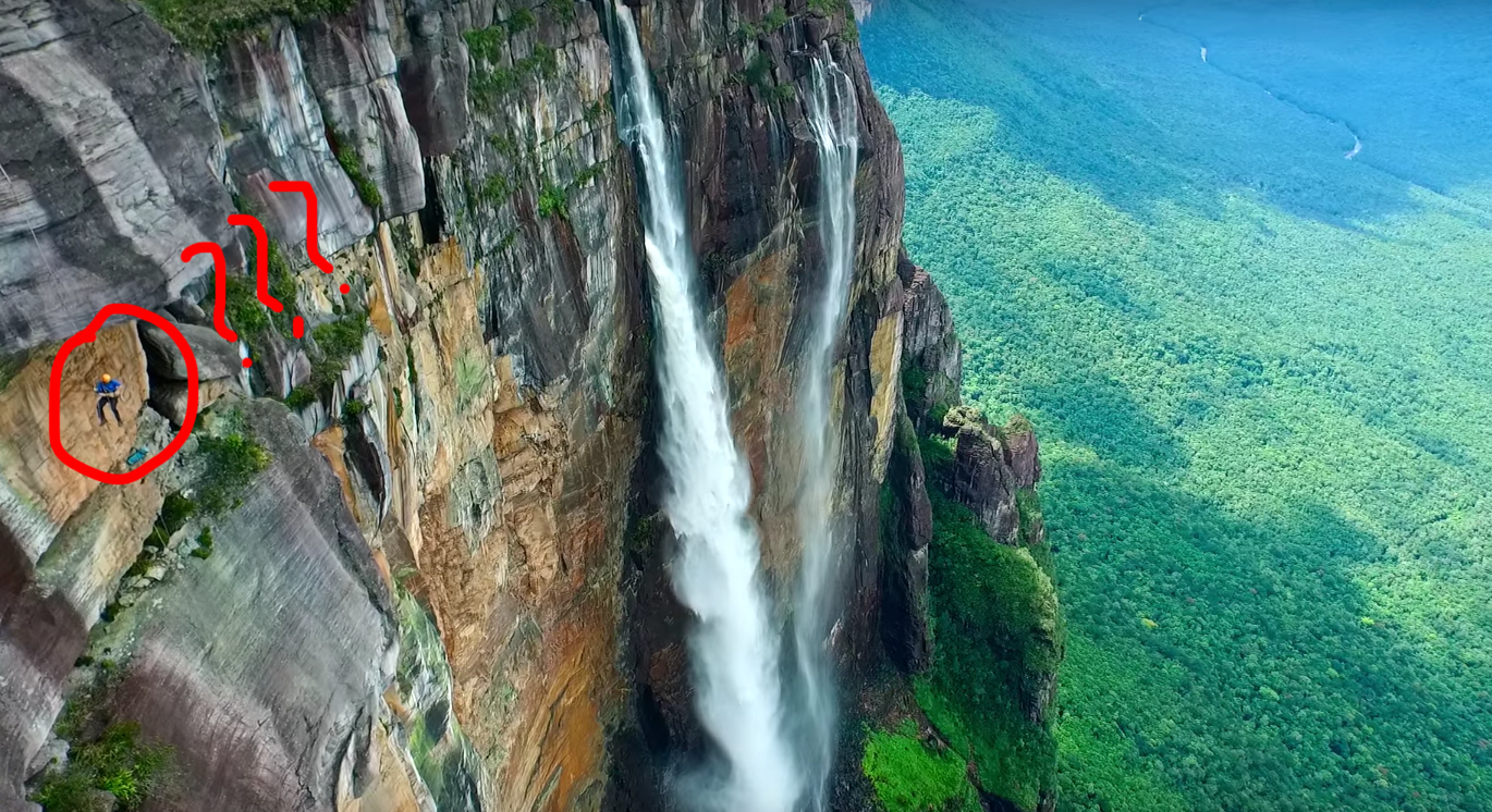 Watch A Drone Take You Over The Edge Of The World S