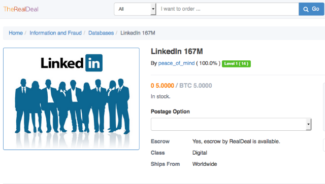 Another Day, Another Hack: 117 Million LinkedIn Emails And Passwords