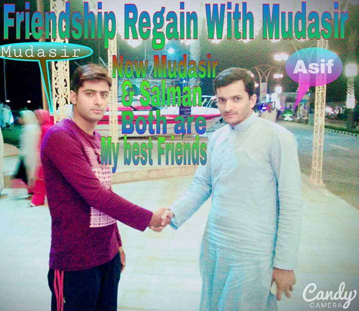 A Year After Ending and Regaining Friendship With Mudasir, Asif Regrets Nothing