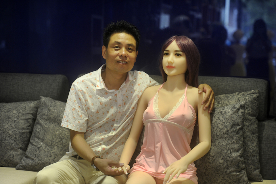 love and sex with robots in Salford