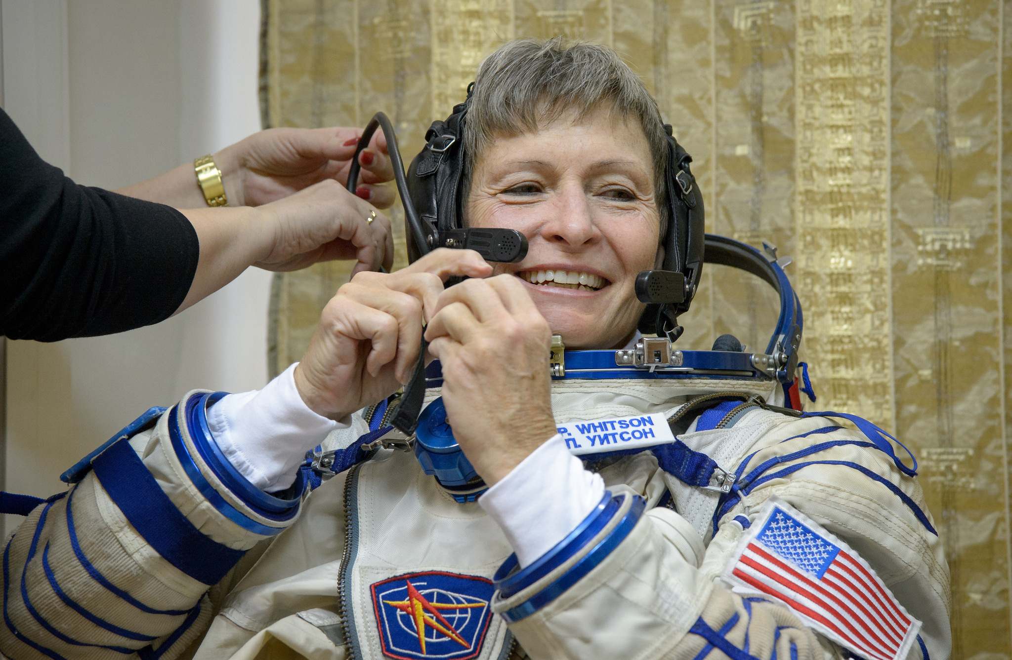 NASA's Peggy Whitson Becomes Oldest Woman in Space