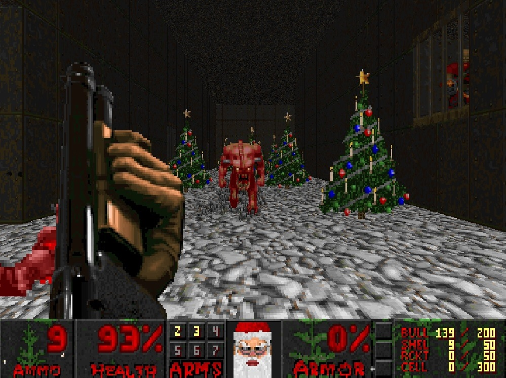 Deck the Halls With Gibs and Demons with the Best 'Doom' Christmas