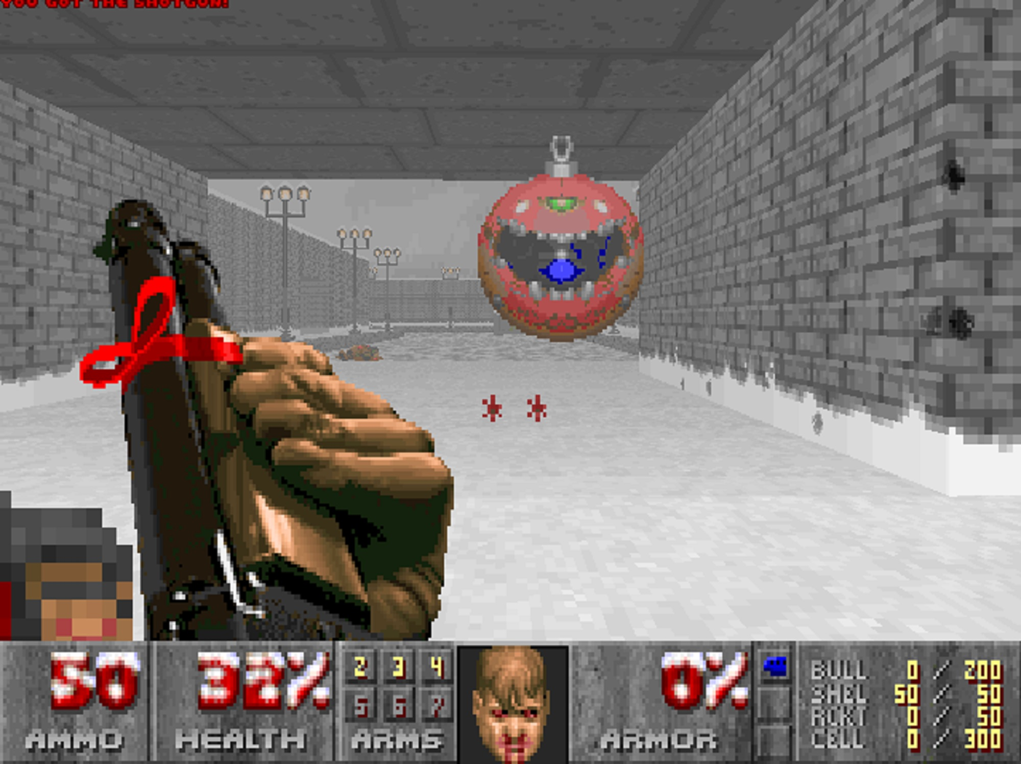 Deck the Halls With Gibs and Demons with the Best 'Doom