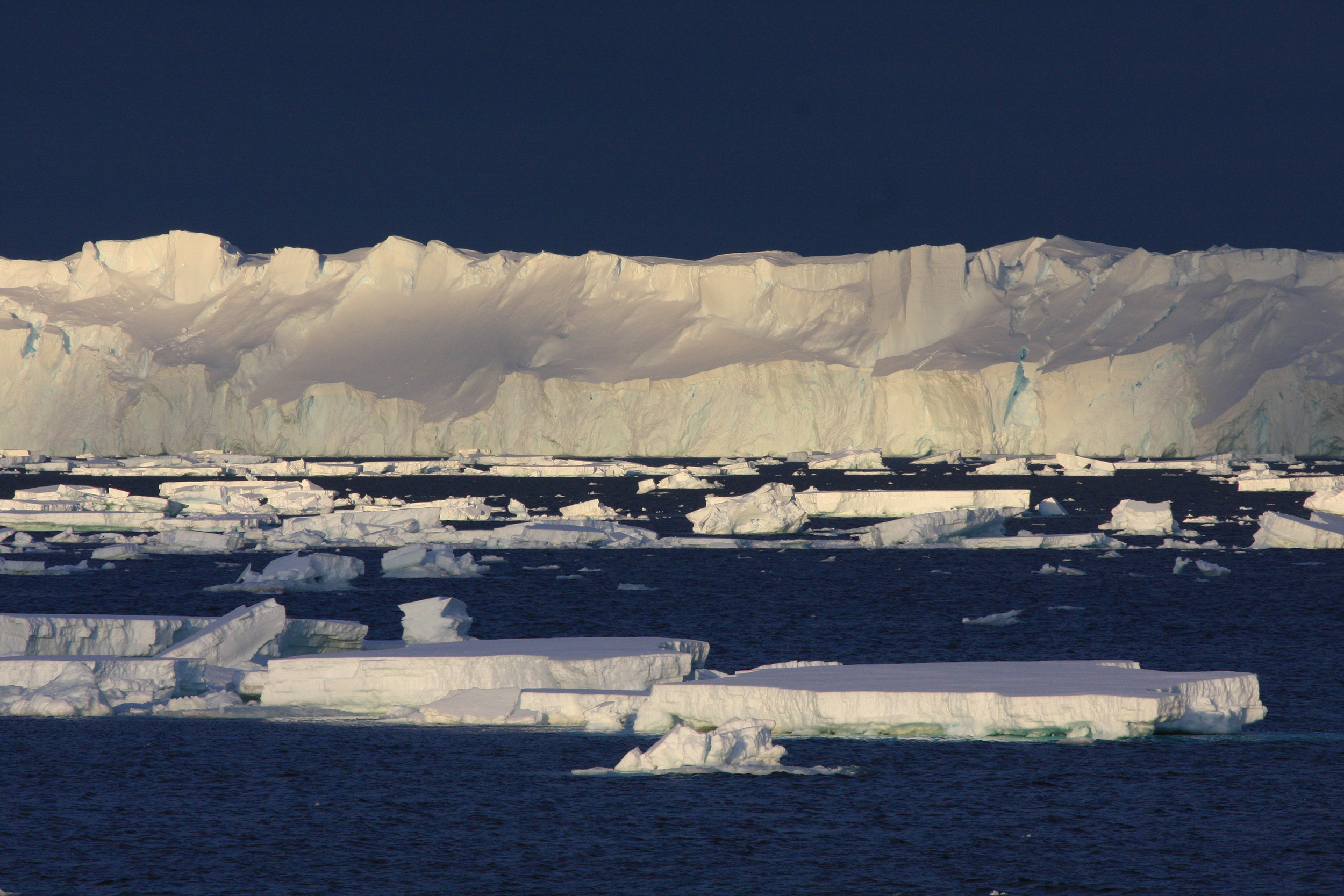 Warm ocean melting East Antarctic ice from beneath