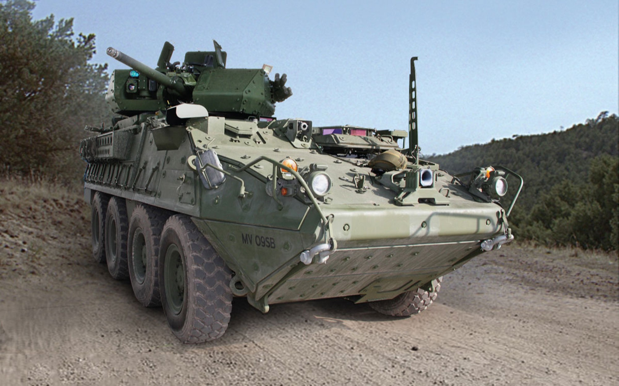 At top — BAE's prototype Armored Multipurpose Vehicle. Image: US Army photos
