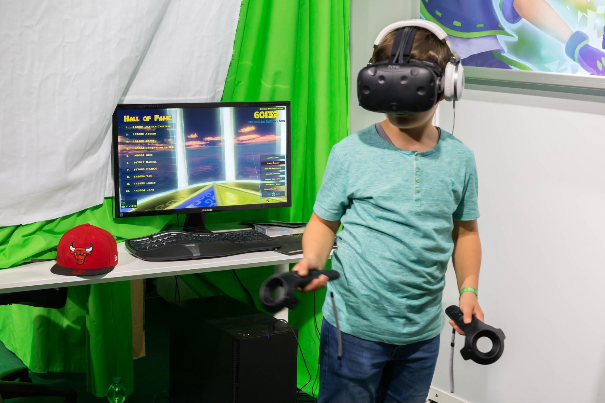 Game developers prefer HTC's Vive to the Oculus Rift