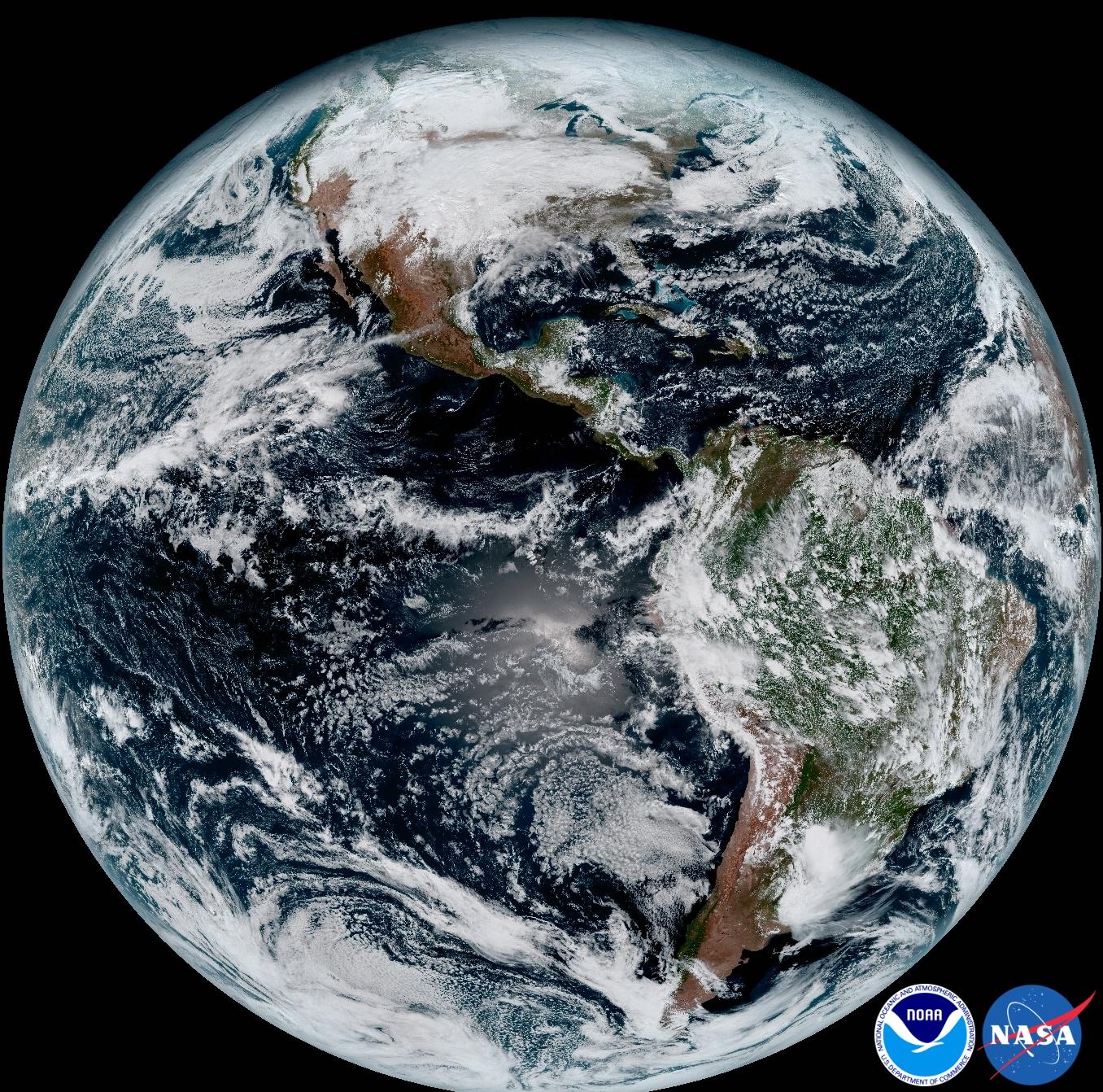 Videos NOAA National Environmental Satellite Data And - Recent world satellite map