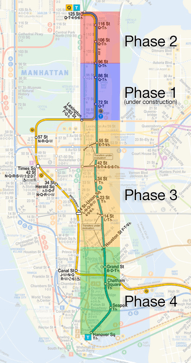 New Second Ave Subway Map.A Descent Into New York S Remarkable Second Avenue Subway Vice